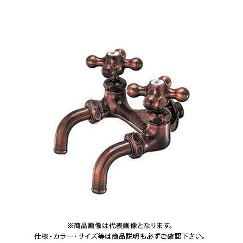 カクダイ カラー双口ホーム水栓 7050FBP-13