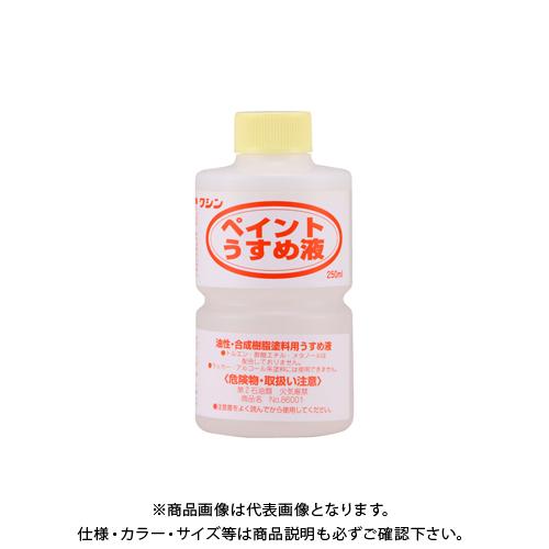 期間限定お試し価格 油性塗料用うすめ液 和信ペイント ペイントうすめ液 #930501 250ml 驚きの価格が実現