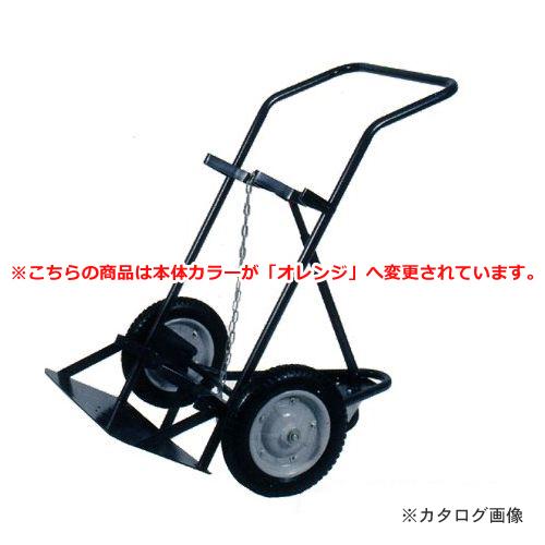 【直送品】ハマコ HAMACO ボンベ台車/3輪車 酸素・アセチレンボンベ用 BC-03