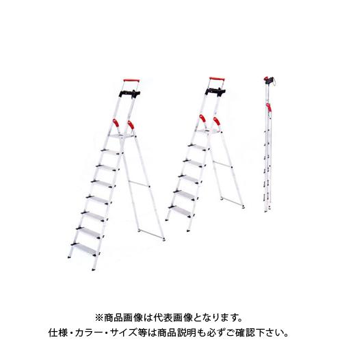 【直送品】ハセガワ 長谷川工業 上枠付踏み台 脚立はしご XXR-7 17313