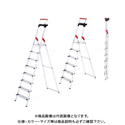 【直送品】ハセガワ 長谷川工業 上枠付踏み台 脚立はしご XXR-8 17314