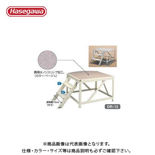 【直送品】ハセガワ 長谷川工業 朝礼台 DR-09 11041