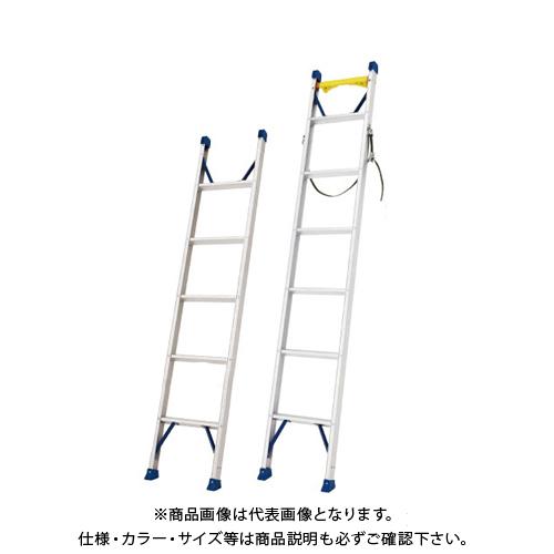 【直送品】ハセガワ 長谷川工業 電工用1連はしご(昇柱用) LQ1 1.0-18B 17213