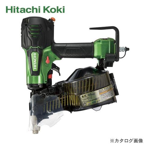 HiKOKI(日立工機) 高圧ロール釘打機 エアダスタ付 メタリックグリーン NV65HR(NL)