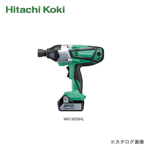 Hitachi Koki HITACHI 18 V Cordless impact wrench WR18DSHL (2 LSCK)