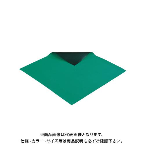 【運賃見積り】【直送品】ホーザン HOZAN 導電性カラーマット 2×1×10m F-746