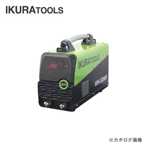 育良精機 インバータ制御直流アーク溶接機(電撃防止機能付) ライトアーク 200V 40A 40059 ISK-LS200S