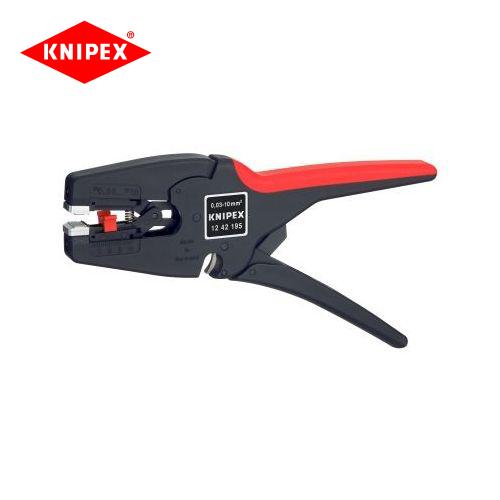 クニペックス KNIPEX オートマチックワイヤーストリッパー 1242-195