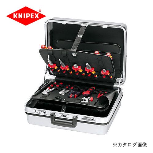 クニペックス KNIPEX 00 21電工ツールセット(23本組) 002130