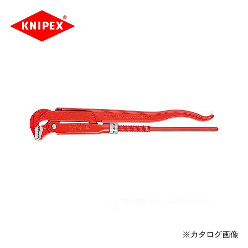 【正規品】  クニペックス 8310-030:KanamonoYaSan 83パイプレンチ90° KYS 3inch KNIPEX-DIY・工具