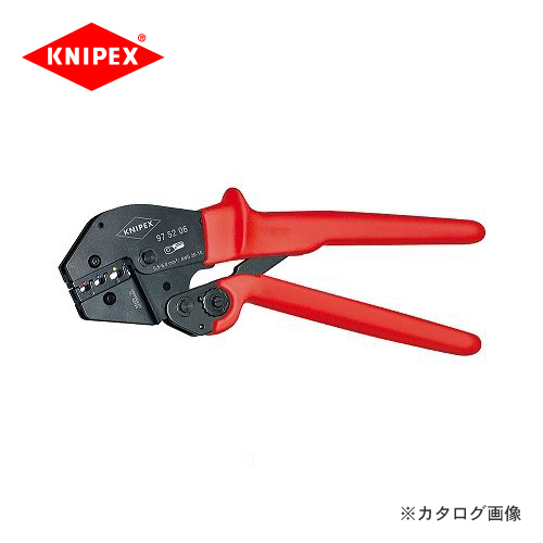 クニペックス KNIPEX 97クリンピングプライヤー 9752-06