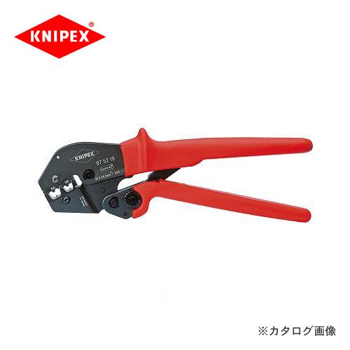 クニペックス KNIPEX 97クリンピングプライヤー 9752-19