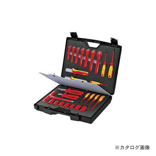 クニペックス 989912 絶縁工具セット