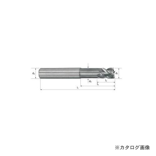 フレイザー FRAISA P5225.180 超硬荒加工用エンドミル 3X4X57X6