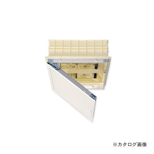 城東テクノ Joto 高気密型天井点検口用(セット梱包品) 在来軸組用 455×455(寒冷地高断熱タイプ) 点検口:ホワイト 断熱枠:アイボリー 断熱材:淡黄 (1セット) SPC-S4545BH3