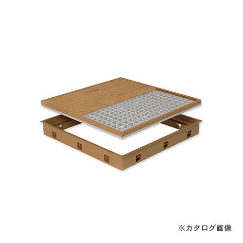 城東テクノ Joto 高気密型床下点検口 (標準型450×600mm) クッションフロア対応 ダークブラウン (1セット) SPF-R4560C-DB