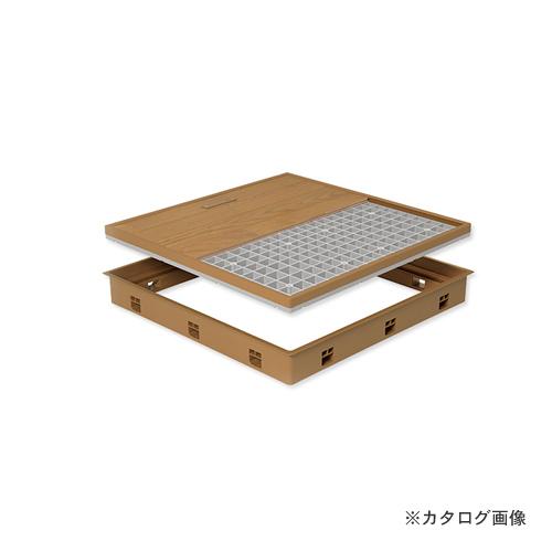 城東テクノ Joto 高気密型床下点検口 (標準型450×600mm) クッションフロア対応 アイボリー (1セット) SPF-R4560C-IV