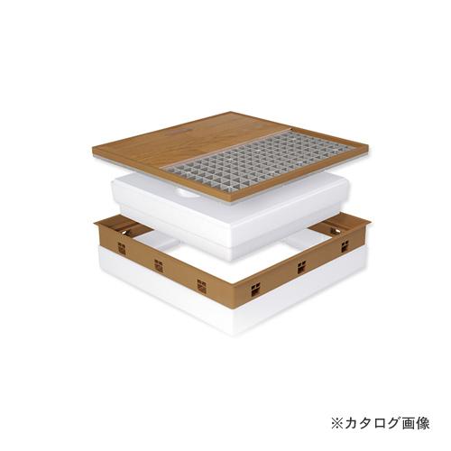 城東テクノ Joto 高気密型床下点検口 (高断熱型450×600mm) フローリング12mm対応 ナチュラル (1セット) SPF-R45F12-BL2-NL