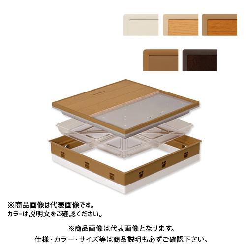 城東テクノ Joto 高気密型床下点検口 (断熱型600×600mm) クッションフロア対応 アイボリー (1セット) SPF-R60C-UA1-IV