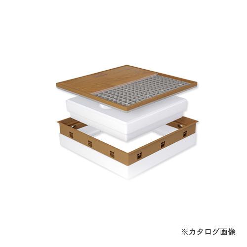 城東テクノ Joto 高気密型床下点検口 (高断熱型600×600mm) フローリング15mm対応 アイボリー (1セット) SPF-R60F15-BL2-IV