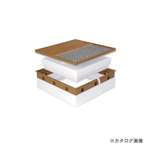 城東テクノ Joto 高気密型床下点検口 (寒冷地高断熱型600×600mm) シート貼り完成品 アイボリー (1セット) SPF-R60S-BL3-IV