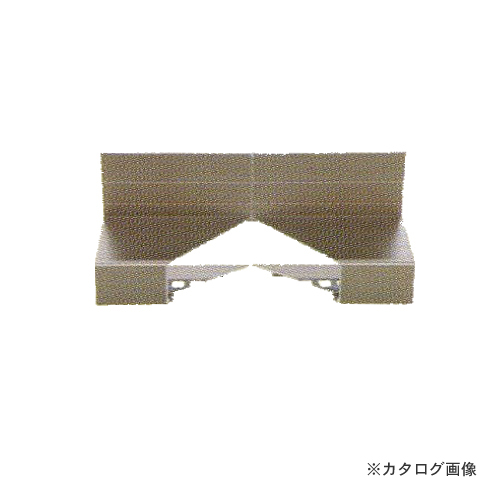 城東テクノ Joto 防鼠付通気水切り Vカット入隅(アルミ製) ステンカラー (10コ) WKA-3518ASI-SC
