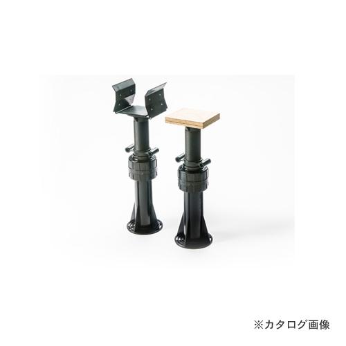 城東テクノ Joto ゆかづか 大引受 樹脂タイプ 254mm~383mm ブラック(66ナイロン) (30コ) YS-2438A