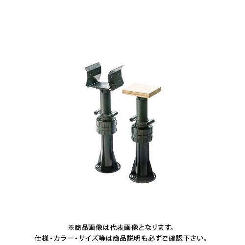 城東テクノ Joto ゆかづか 大引受 合板タイプ 495mm~623mm ブラック(66ナイロン) (30コ) YS-4761B