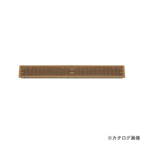 城東テクノ Joto ルームガラリ 624.5×90×26.5mm ブラックブラウン (4コ) YV-7560-BB