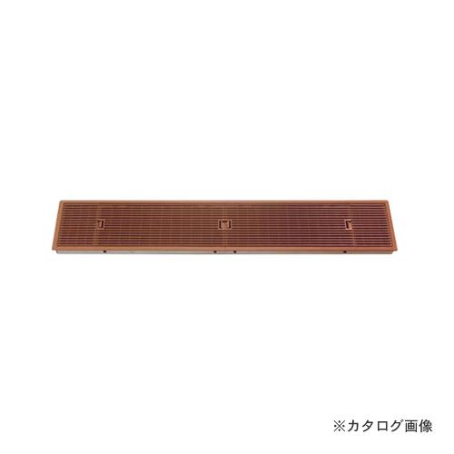 城東テクノ Joto ルームガラリ (風量調節機能あり) 807×165×26.5mm ミディアムブラウン (2コ) YV-N15079-MB
