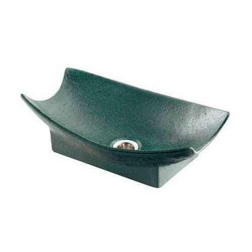 カクダイ KAKUDAI 舟型手水鉢 濃茶 624-934