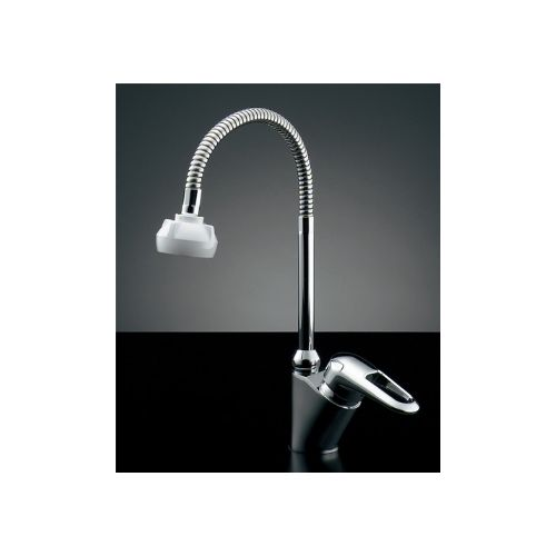 カクダイ KAKUDAI シングルレバー混合栓(シャワーつき) 183-134