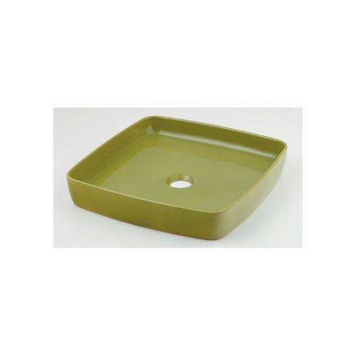 カクダイ KAKUDAI 角型手洗器//ピスタチオ 493-096-GR