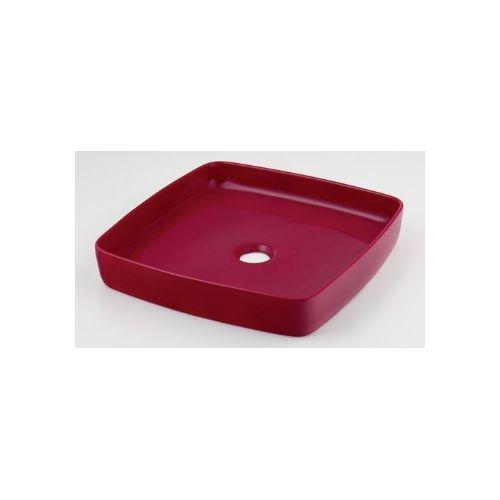 カクダイ KAKUDAI 角型手洗器//ラズベリー 493-096-R