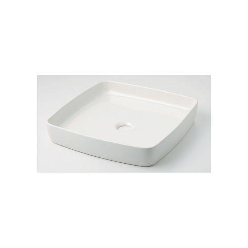 カクダイ KAKUDAI 角型手洗器//シュガー 493-096-W