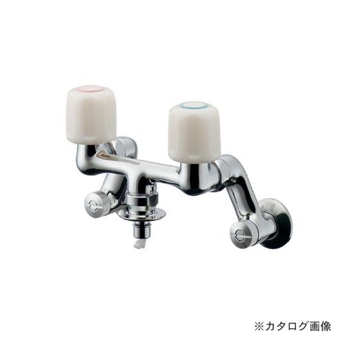 カクダイ KAKUDAI 洗濯機用混合栓(ストッパーつき) 127-303