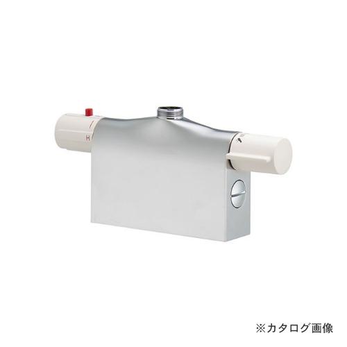 カクダイ KAKUDAI サーモスタットシャワー混合栓本体(デッキタイプ) 175-400K