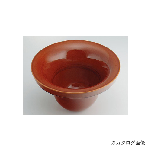 カクダイ KAKUDAI 丸型手洗器//飴 493-099-BR