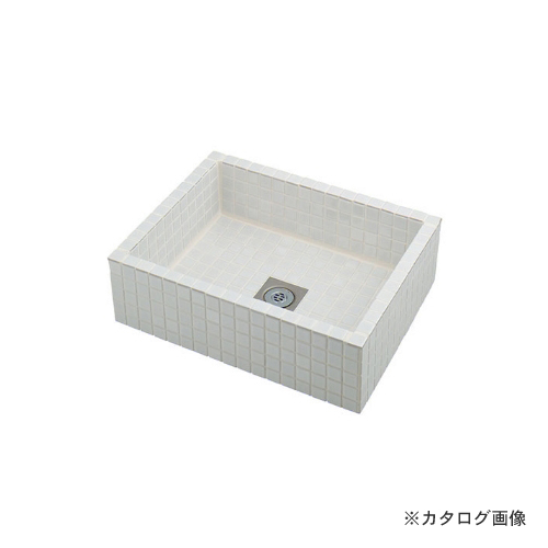 カクダイ KAKUDAI 水栓柱パン(タイル張り・白) 624-970