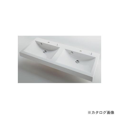 カクダイ KAKUDAI 角型洗面器//ポップアップ独立つまみタイプ #MR-493223H
