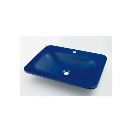 カクダイ KAKUDAI 角型洗面器//アップルグリーン #MR-493220GR