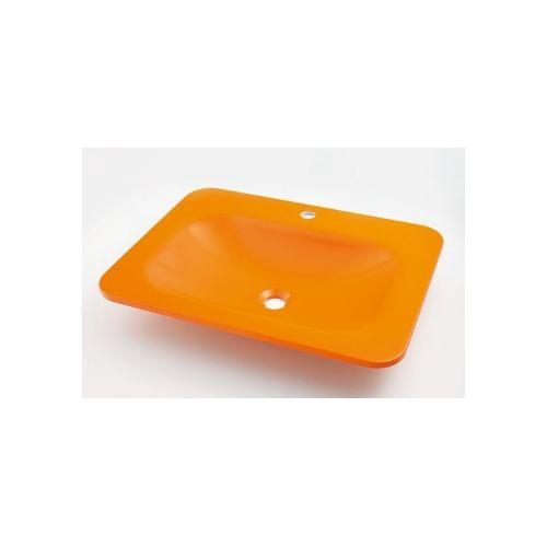 カクダイ KAKUDAI 角型洗面器//ゴールデンオレンジ #MR-493220Y