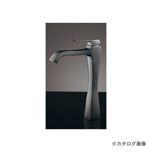 カクダイ KAKUDAI シングルレバー混合栓(トール・マットブラック) (旧品番:183-175GN) 183-165GN-D