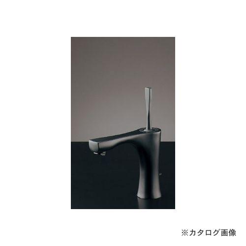 通販 KYS  カクダイ KAKUDAI 183-230GN-D:KanamonoYaSan シングルレバー混合栓(マットブラック) (旧品番:183-236GN)-DIY・工具