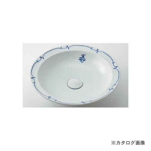 カクダイ KAKUDAI 丸型洗面器//シルク 493-055-W