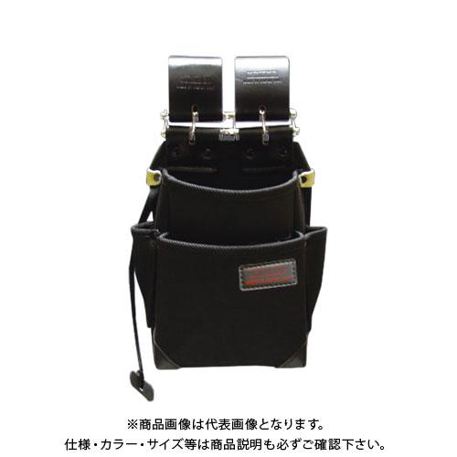 ニックス KNICKS チェーン式 特殊ナイロン製 2段腰袋 KB-211NSDX