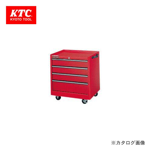 【直送品】KTC ワゴン(4段4引出し) DC-6024