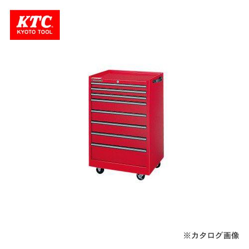 【直送品】KTC ワゴン(8段8引出し) DC-9038A