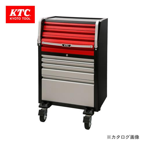 【直送品】KTC ローラーキャビネット(8段8引出し) 740×680×1230 EKX-118