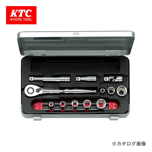 KTC 9.5sq. ソケットレンチセット(12点) TB308X